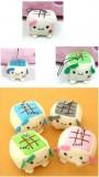 日本创意豆腐手机挂件