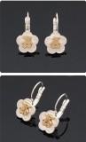 韩版可爱小熊TOUS花型耳环