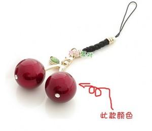 韩版红果儿挂件