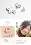 恋爱的季节XLOVE爱心三件套耳环