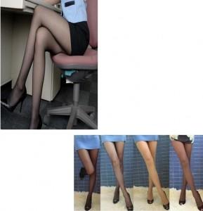 热销白领 OL 空姐专用 超人气透明连裤袜