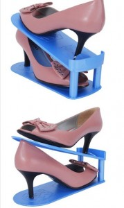 TV热卖 日本可调式收纳鞋架
