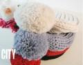 VV杂志热推毛毛球弹弹帽