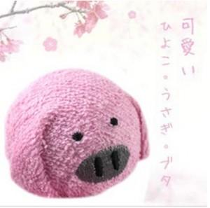 台湾~日本~韩国风靡~可爱造型毛巾(小猪仔)