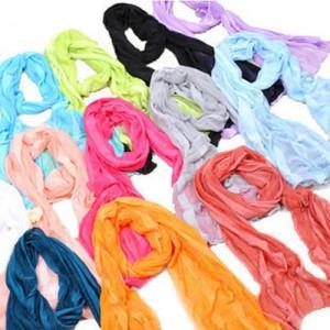 可爱糖果皱皱围巾