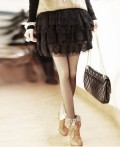 春夏推荐蕾丝层层公主裙裙
