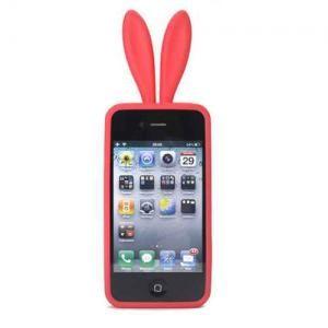韩版高品质iphone 4兔女郎手机硅胶套 (不含尾巴)