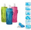 出口美国Vapur便携式可折叠水瓶480ml