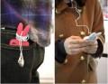 韩版iphone 4兔女郎带尾巴手机硅胶套