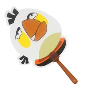 愤怒白鸟扇子