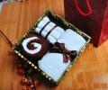 纯棉蛋糕毛巾礼盒