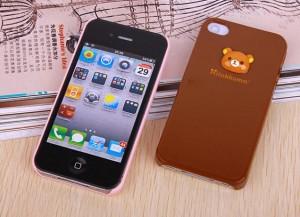 高品质iphone 4rilakkuma手机壳