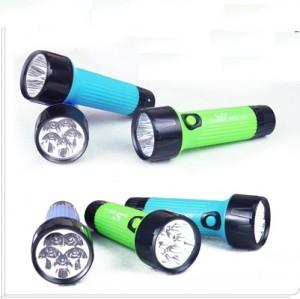 强光充电LED手电筒