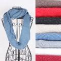 秋冬三角金丝毛线保暖围巾