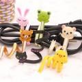 韩版可爱动物长条绑线器/绕线器