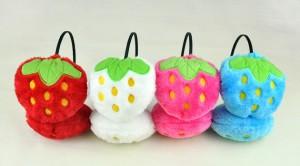 草莓冬天耳罩