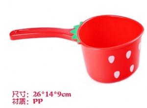 出口日本可爱草莓水瓢/水勺