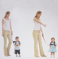 二合一幼儿防走失带小背包