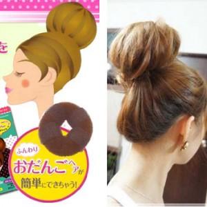 热卖头发造型荷包头/甜甜圈