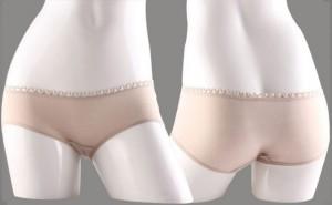柔软全棉女士低腰内裤