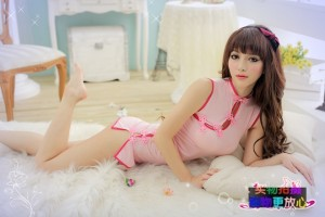 S-M Size 中国式旗袍两件套