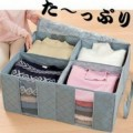 日本竹炭除味视窗衣物整理袋(130L)