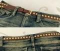韩版时尚铆钉小皮带