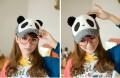 范冰冰款熊猫情侣款帽子