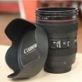 创意Cuplens三代相机镜头杯(含遮光罩杯盖)