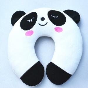 可爱熊猫U型保健护颈枕
