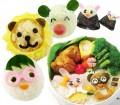 日本妈妈超爱DIY饭团寿司必备神奇大变脸超值模具三件套