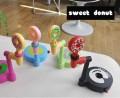 甜甜圈饮料汽水倒置桌面饮水器