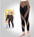 出口日本男女通用运动美体九分裤