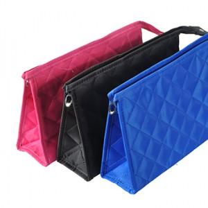 韩国时尚格子化妆袋(大号)