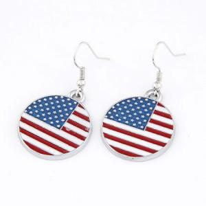 美国国旗耳环