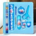 儿童铅笔橡皮8件套文具盒装